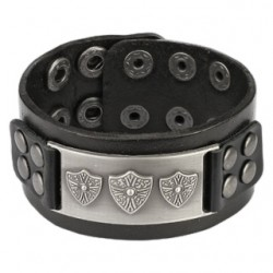 "Bracciale ""Shield Buckle"""