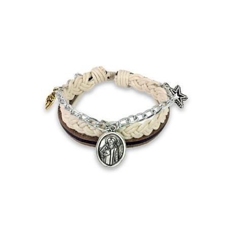 Bracelet St. Benedict's Charms