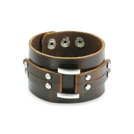 Bracelet Brown Wide