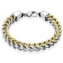 Box Weave Chain Bracelet