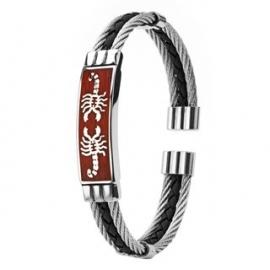 Spikes Scorpio Bracelet