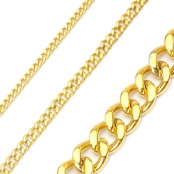 PVD Gold Chain Necklace