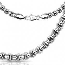 Round Rectangle Necklace