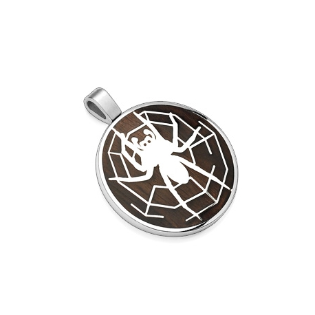 Black Spider Pendant