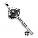 Key CZ 316L Stainless Steel Pendant