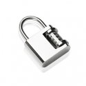 Lock 316L Stainless Steel Pendant
