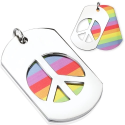 Rainbow Peace Necklaces