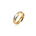 Ring Gold IP 316L Stainless Steel