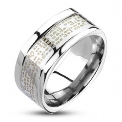 Prayer Ring 316L Stainless Steell