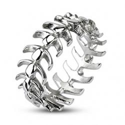 Vertebrae Looped Bone Ring