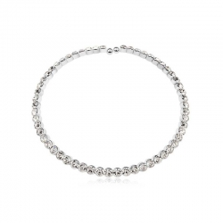 SWAROVSKI Crystals Open Necklace