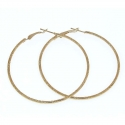 Hoop Earrings Gold Tone