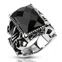 Onyx Gothic Ring