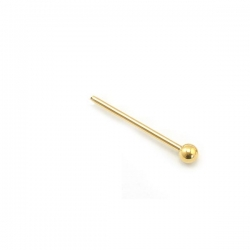 Nose Ball Gold Piercing Silver 925