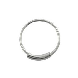 Nose Hoop Ring Silver
