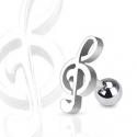 Musica Nota Piercing