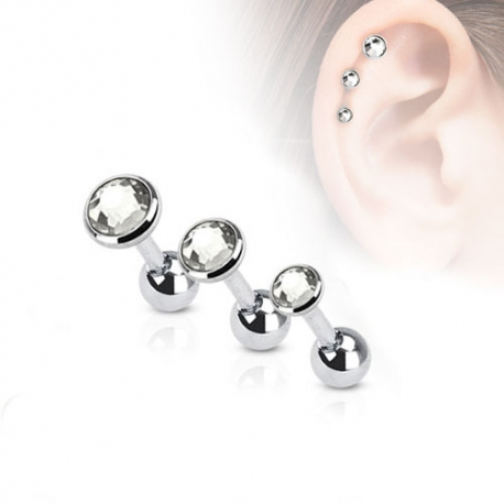 Cristallo Trago/Cartilagine Piercing