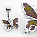 Farfalla Piercing Ombelico