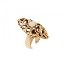 Anello White Opal