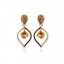 Drops Crystals Earrings