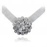 Big Flower Crystal Necklace