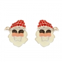 Earrings Santa Claus