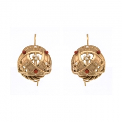 Earrings HEMISPHERE