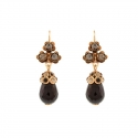Earrings Onyx