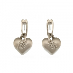 Earrings Heart&Sheet