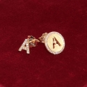 Earrings Initial Letters