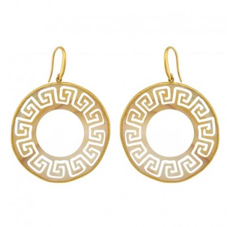 Angelite Stone Earrings