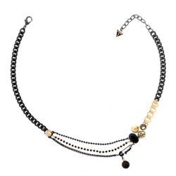 Necklace Black & Gold Guess
