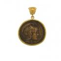 Antique Coins Necklace