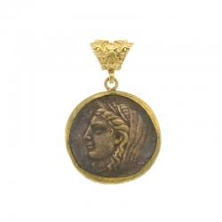 Ciondolo con Moneta Antica
