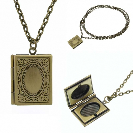 Necklace Book Photo Frame
