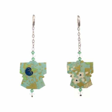 Earrings Japanese Origami