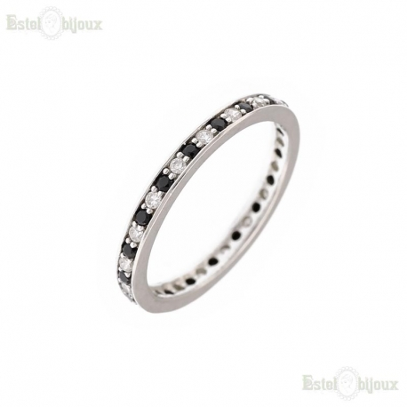 Ring CZ Sterling Silver 925