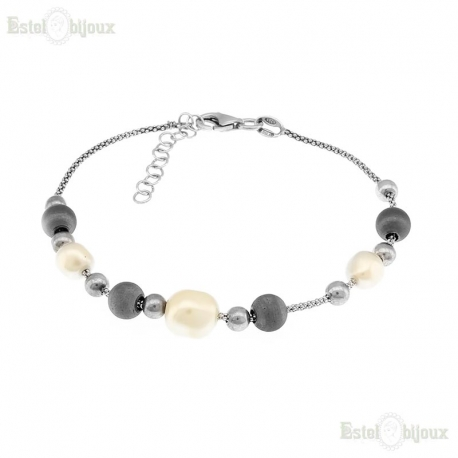 Pearls and Balls Bracelet