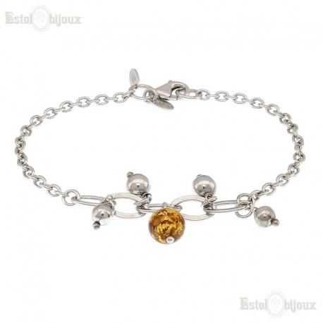 Glass and Balls Bracelet