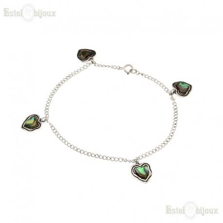 Five Hearts Bracelet