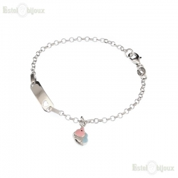 Elephant and Heart Bracelet