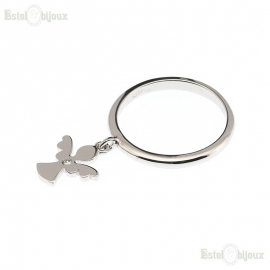 Angel Pendant Ring