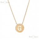Necklace Initials Letter