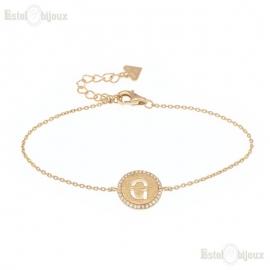 Bracelet Initials Letters