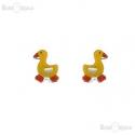 Duck Yellow Earrings