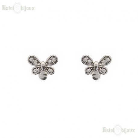 Butterfly CZ Earrings
