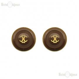 """Vintage Orecchini a Clip """"Chanel"""""""