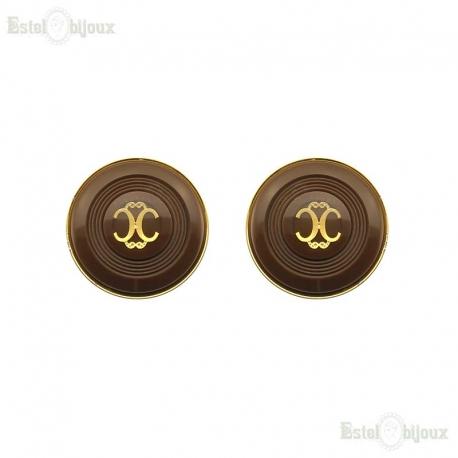 """""""Chanel"""" Vintage Clip Earrings"""