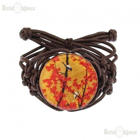 Decoupage Cord Bracelet