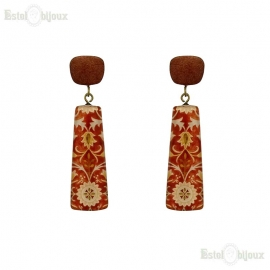 MORRIS Decoupage Earrings